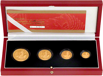 Four Coin Britannia Gold Proof Set