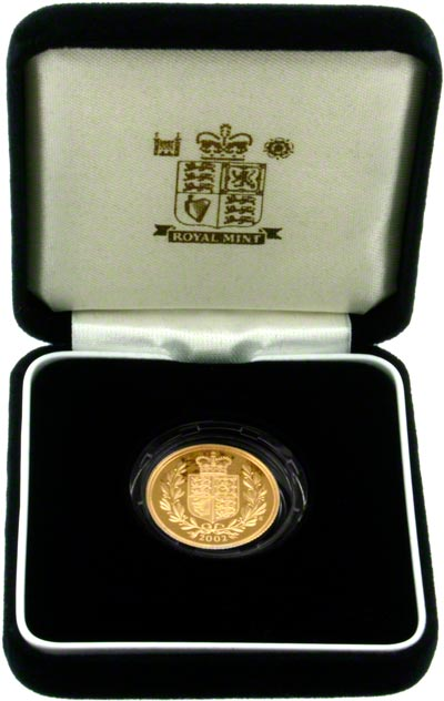 2002 Proof Sovereign in Presentation Box