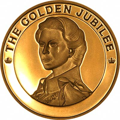 Reverse of 2002 Golden Jubilee 100 Crowns