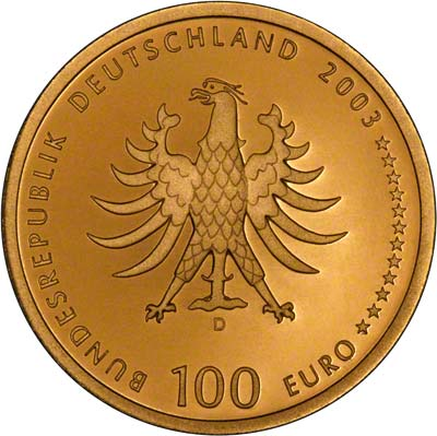 2003 German Gold €100