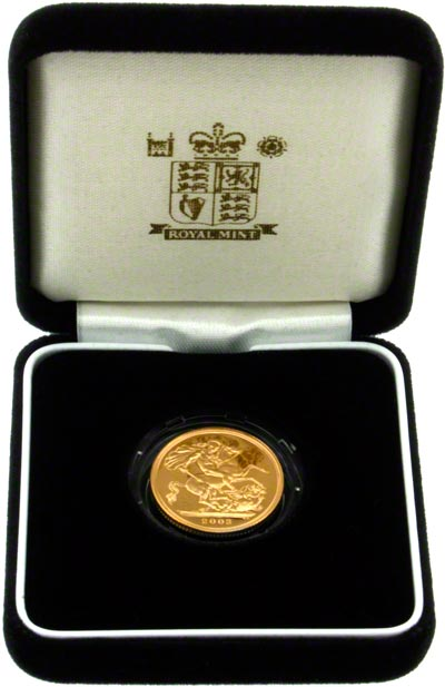 2003 Proof Sovereign in Presentation Box