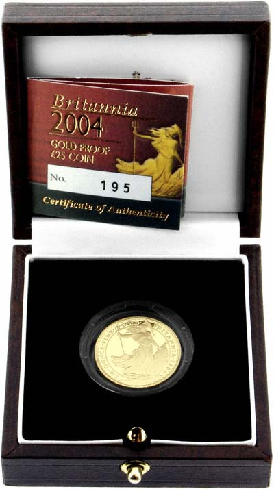 2004 1/4oz Britannia in Box