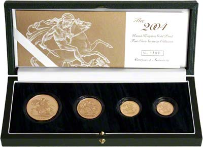 2004 Four Coin Sovereign Set in Presentation Box