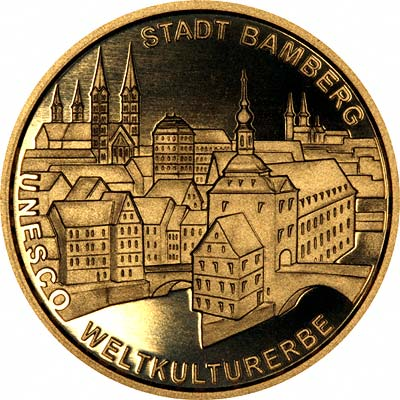 Bamberg Reverse of 2004 German 100 Euros