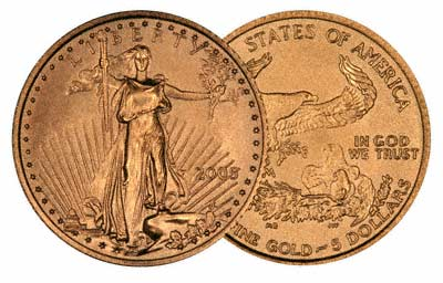 2005 U.S. Government Gold Eagle Coins
