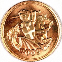 Our 2005 Sovereign Reverse Photograph
