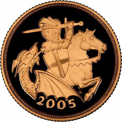 2005 Gold £5