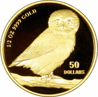 Tuvalu Gold Coins