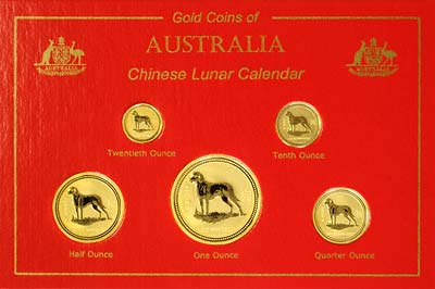 One Kilo Gold Dog Coin