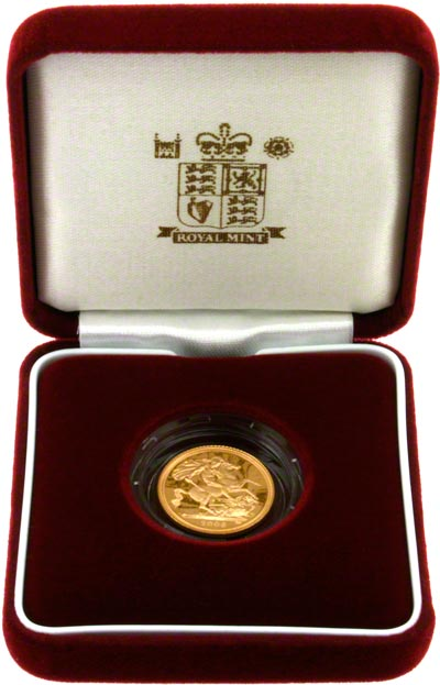 Proof Half Sovereign in Presentation Box