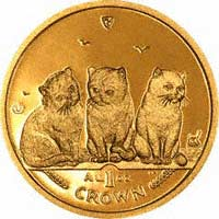 Manx Gold Crown