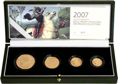 2007 Gold Sovereign Set