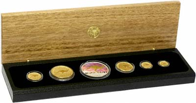 2008 Prestige Gold Proof Coin Set