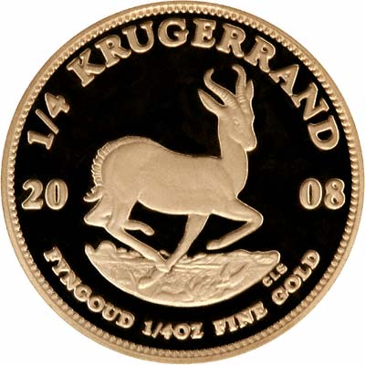 Quarter Ounce Proof Krugerrand