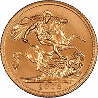 Dates of Half Sovereigns