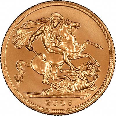 Our 2008 Uncirculated Gold Sovereign Photo