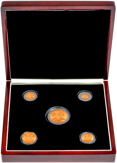 2008 Guinea Set in Presentation Box
