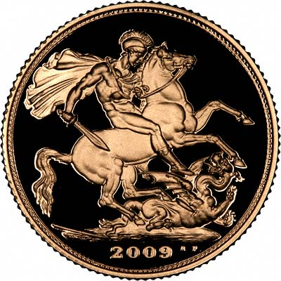 Reverse of 2009 Proof Sovereign