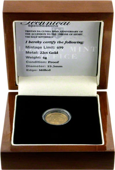 2009 Gold Proof Half Sovereign in Presentation Box