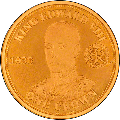 Reverse of 2010 Gold One Crown