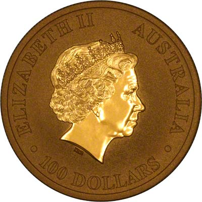 Obverse of 2011 One Ounce Nugget
