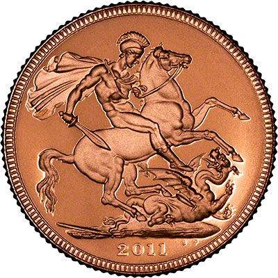 Reverse of 2011 Proof Sovereign
