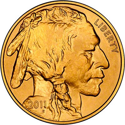 Obverse of 2011 US Gold Buffalo