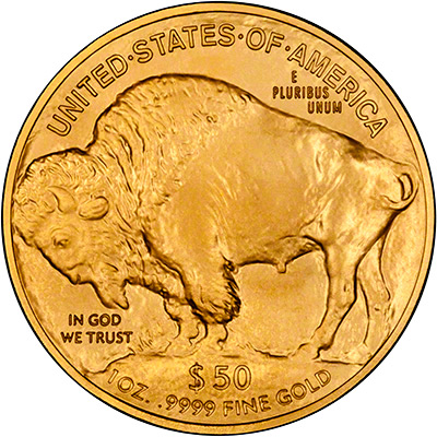 Reverse of 2011 US Gold Buffalo