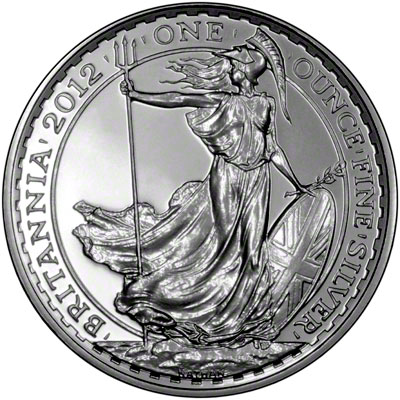 British One Ounce Silver Britannia