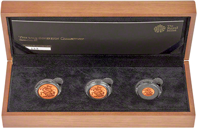 2013 Three Coin Gold Proof Sovereign Set