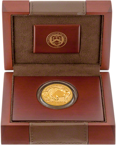 2013 US Reverse Proof Gold Buffalo in Presentation Box