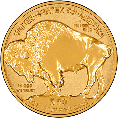 2013 US Reverse Proof Gold Buffalo Reverse