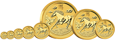 2014 Australian Year of the Horse Coins - Series II