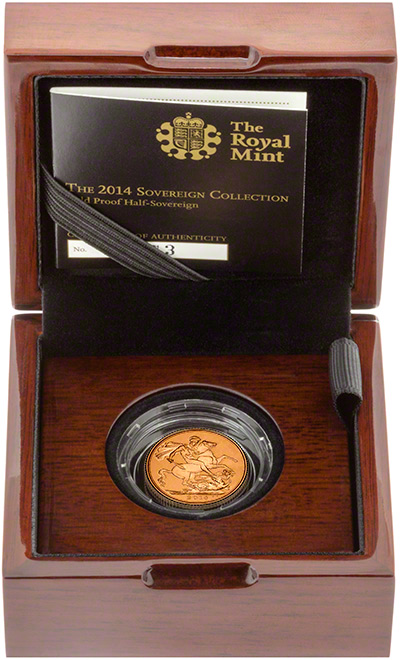 2014 Half Proof Sovereign