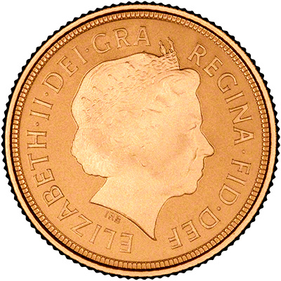 2014 Half Sovereign Obverse