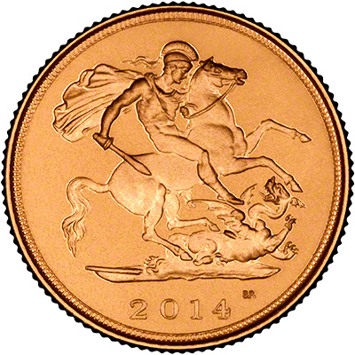 2014 Half Sovereign Reverse
