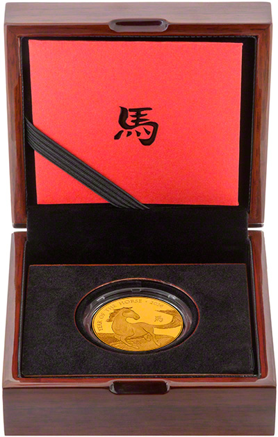 2014 �100 Year of the Horse Coin in Presentation Box