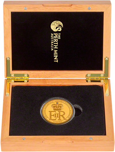 2015 Australian Longest Reigning Monarch Gold Proof Two Ounce Coin in Presentation Box
