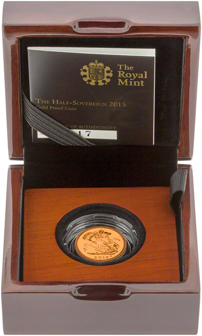 2015 Half Proof Sovereign