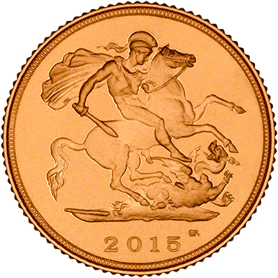2015 Gold Proof Half Sovereign