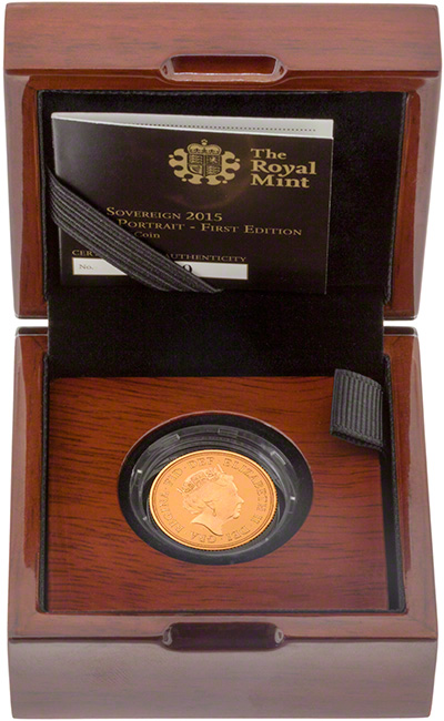 2015 Gold Proof Sovereign in Presentation Box