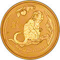 2016 Australian Gold Year of the Monkey Lunar Coin