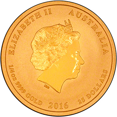 2016 Australian Gold Year Of The Monkey Bullion Coins