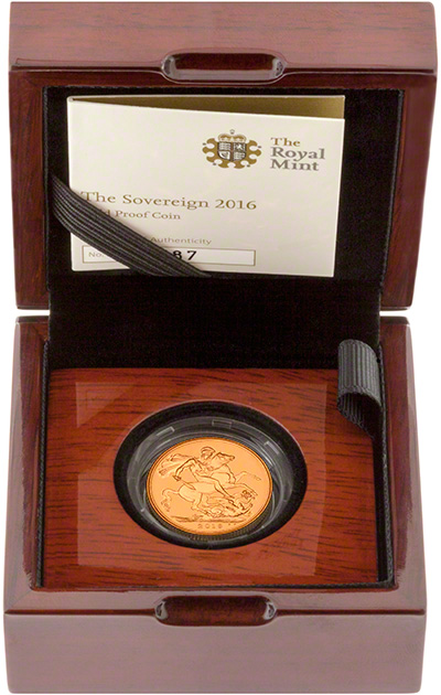 2016 Gold Proof Sovereigns