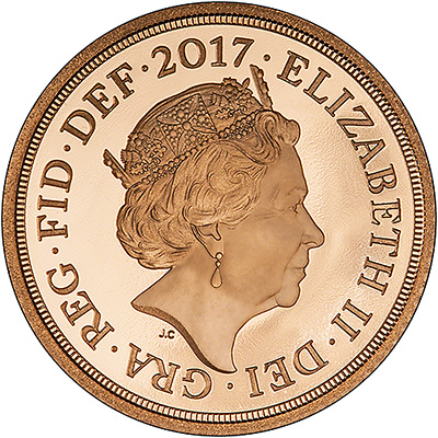 2017 proof half sovereign obverse