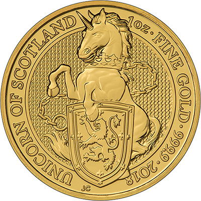 2018 Gold One Ounce Unicorn
