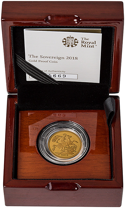 2018 Gold Proof Sovereigns