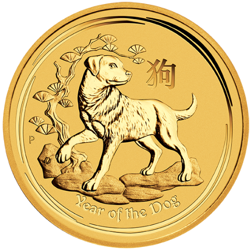 2018 Australian Gold Dog Coins