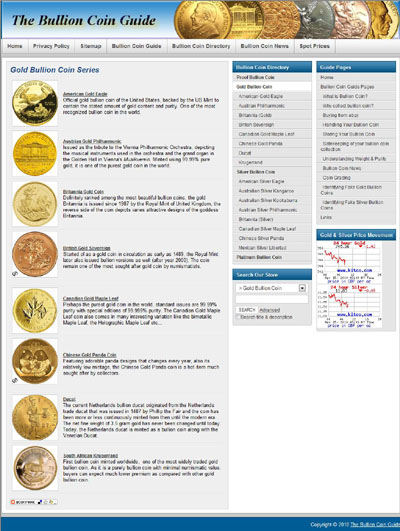 Buy Bullions Gold Bars & Rounds Page