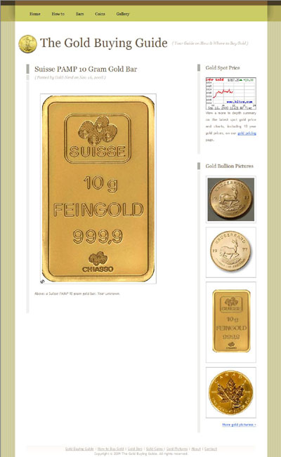 Gold Buying Guide Today goldbuyguide.com